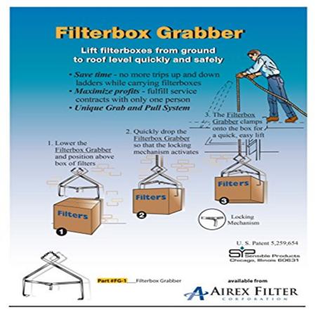 Hvac Filter Box Grabber A Must Have Tool For All Hvac Maintenance Technicians Hvac Filters Hvac Maintenance Must Have Tools