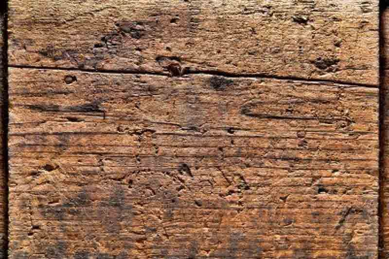 close up of distressed wood