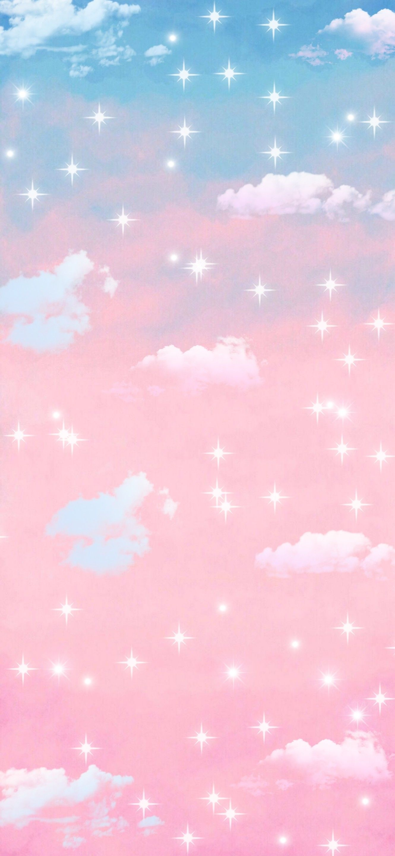 Pink And Blue Background Wallpaper Blue Background Wallpapers Aesthetic Wallpapers Star Wallpaper
