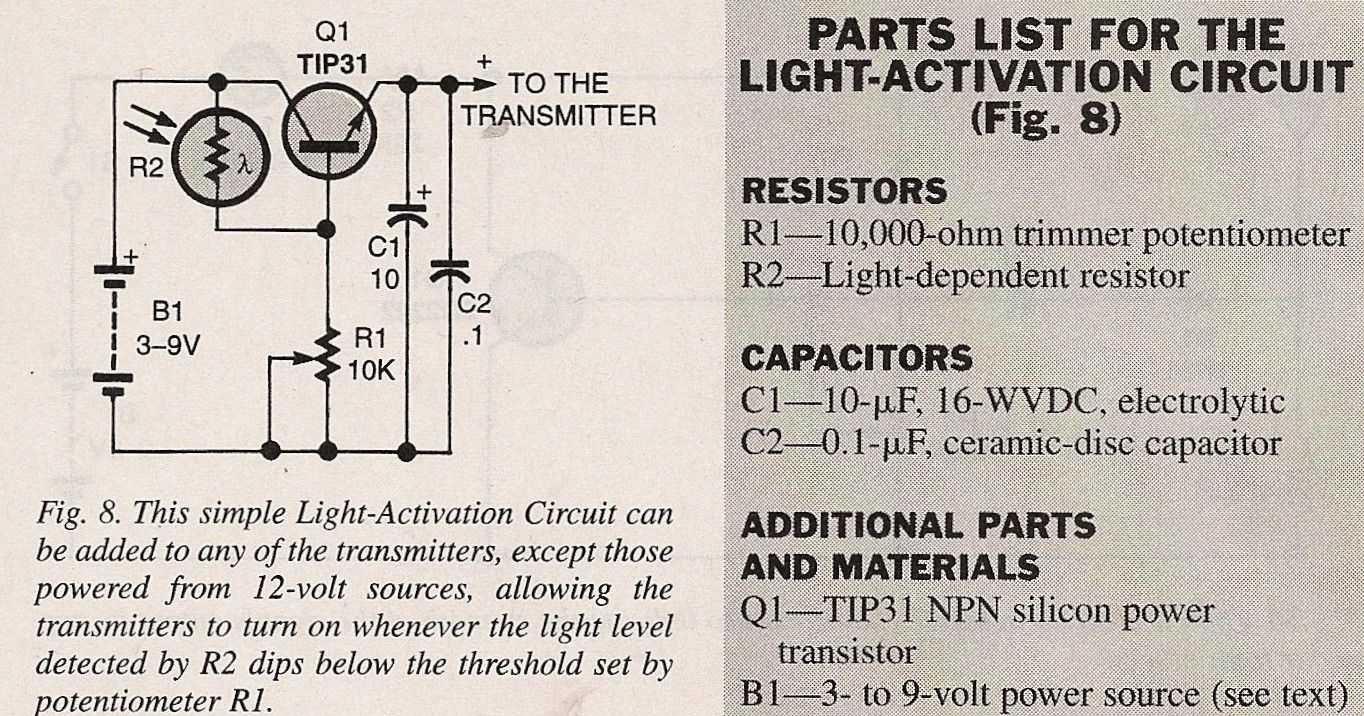 Pin By A Joe Petrucce On Electronic Projects Electronics Projects Dc Circuit Transmitter