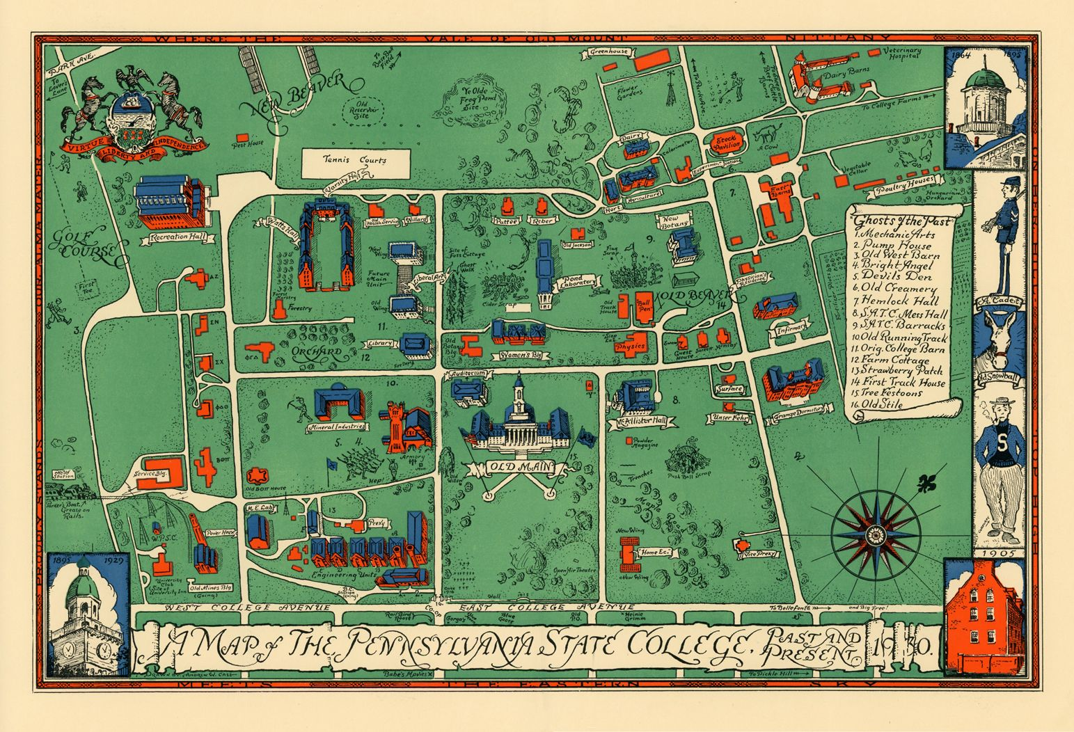 map of penn state campuses A Cool 1930 Map Of Penn State Campus Map Penn State Penn State map of penn state campuses