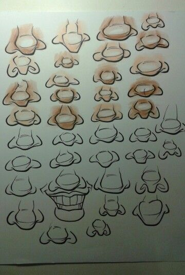 Character Design Noses : Caricature nose noses design character reference