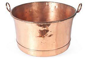 Large VictorianCopper Pot