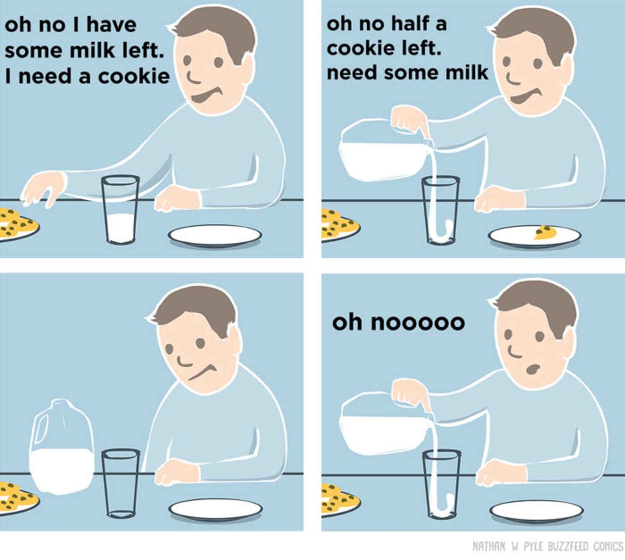 Puts Funny Twist On Seriously Relatable Everyday Situations - Illustrator puts funny twist on seriously relatable everyday situations