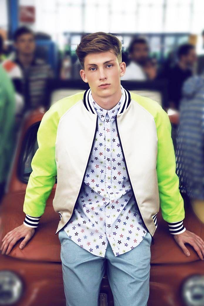 Neon Jacket Menswear Http Www Collegefashionista Com Christinadun Fashionisto Spotlight Terrence Freeman