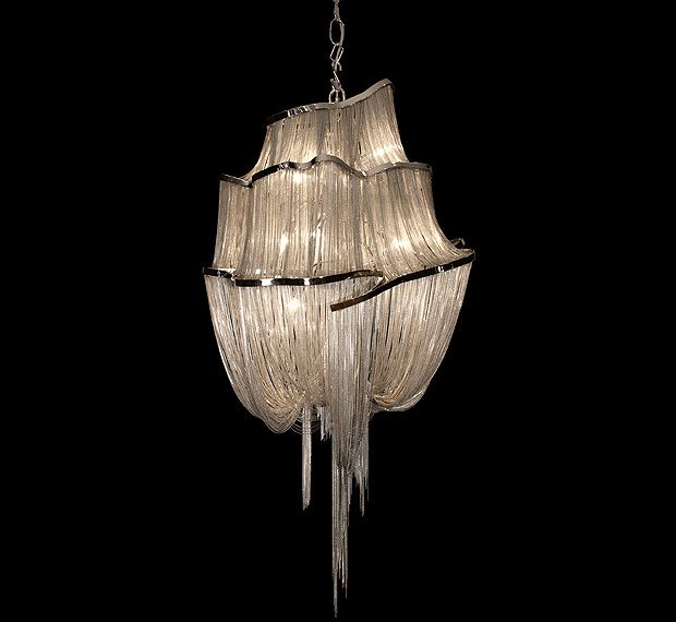 Superb Jellyfish Tentacle Chandeliers