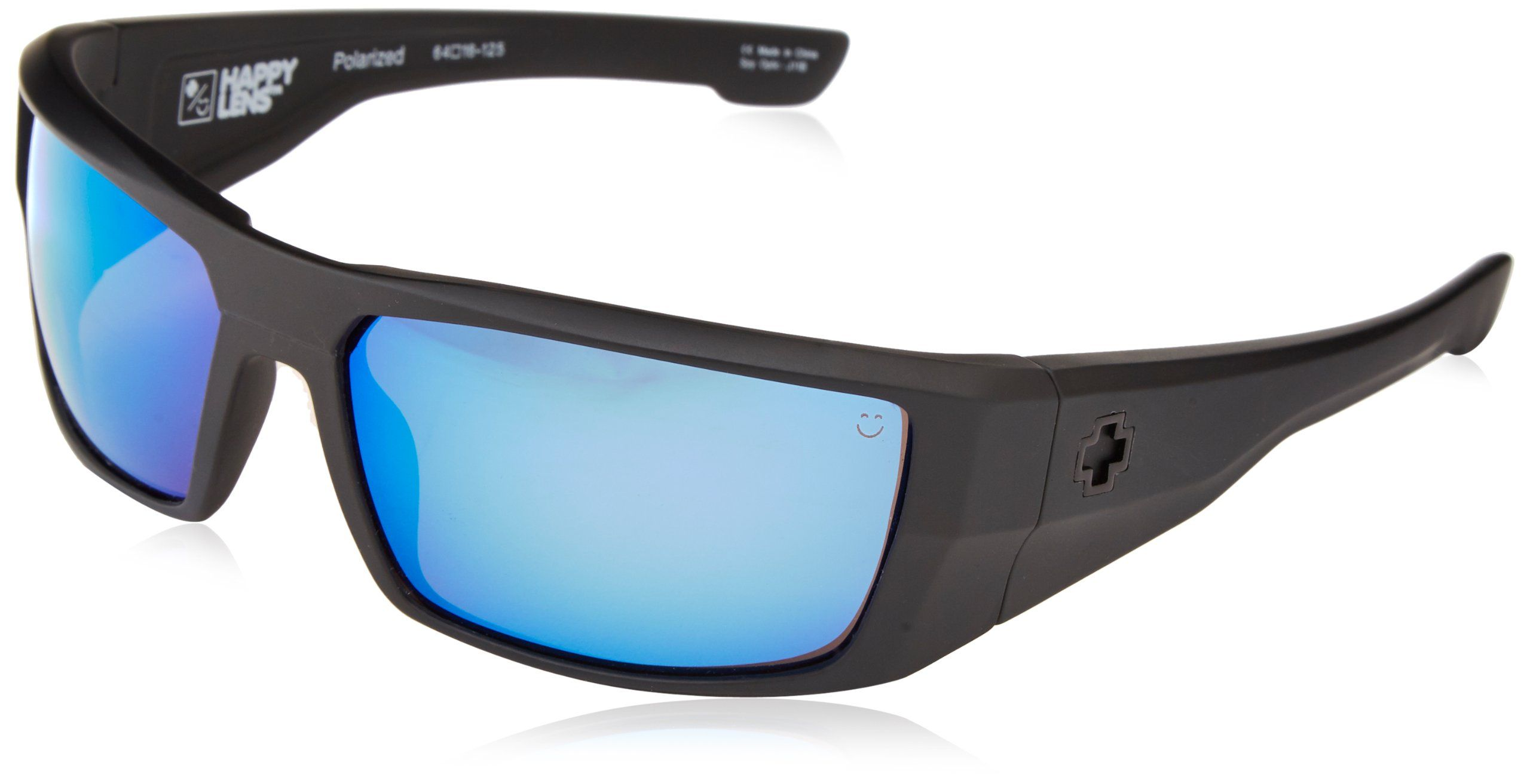 05410964bb Spy Optic Dirk Polarized Wrap Sunglasses