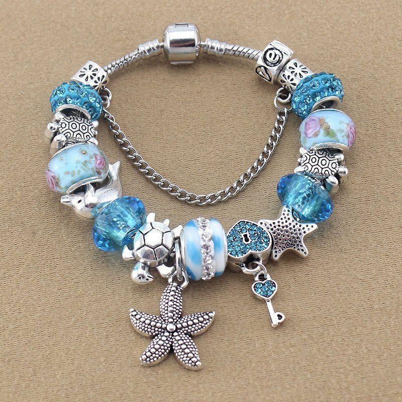 fd2d99097316c FREE Ocean Theme Charm Bracelet in 2019 | GIFT IDEAS FOR ME ...