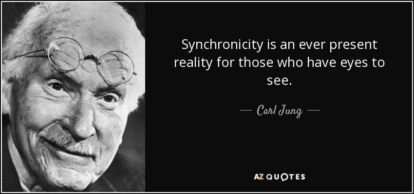 Catching The Bug of Synchronicity (With images) | Carl jung quotes ...