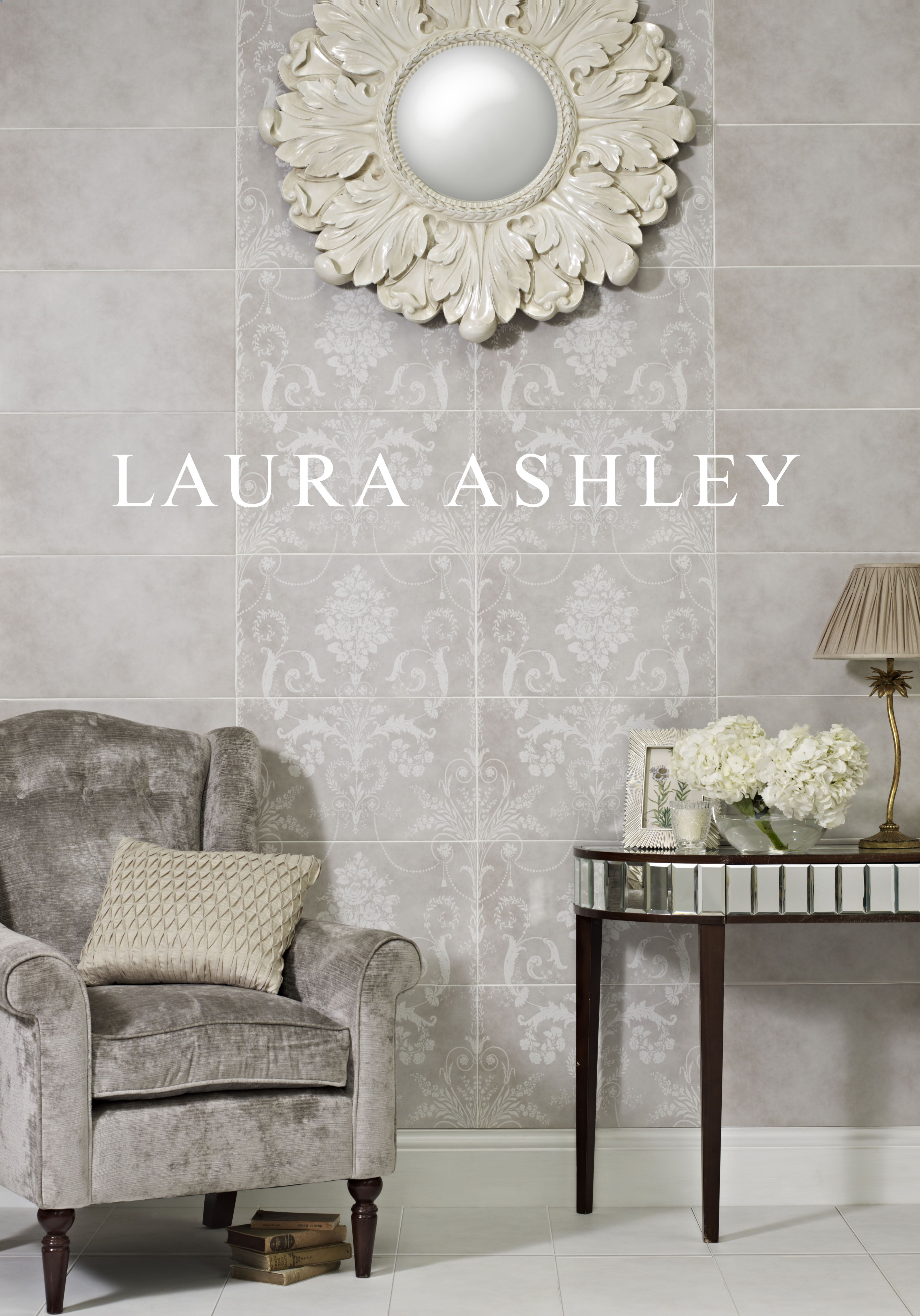 Laura ashley josette decor and plain dove grey josette plain in laura ashley josette decor and plain dove grey josette plain in white tiles from house dailygadgetfo Images
