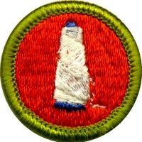 Textile Merit Badge For Boy Scouts Boy Scouts Merit Badges Merit Badge Badge