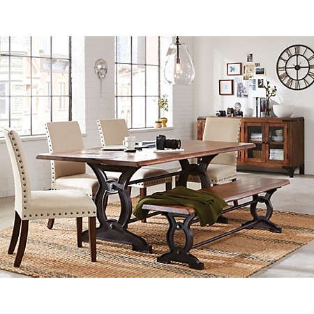 Natural Loft Dining Collection Dining Room Art Beautiful Dining Rooms Art Deco Dining Room