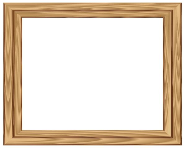 wood frames designs cartoon wooden frame