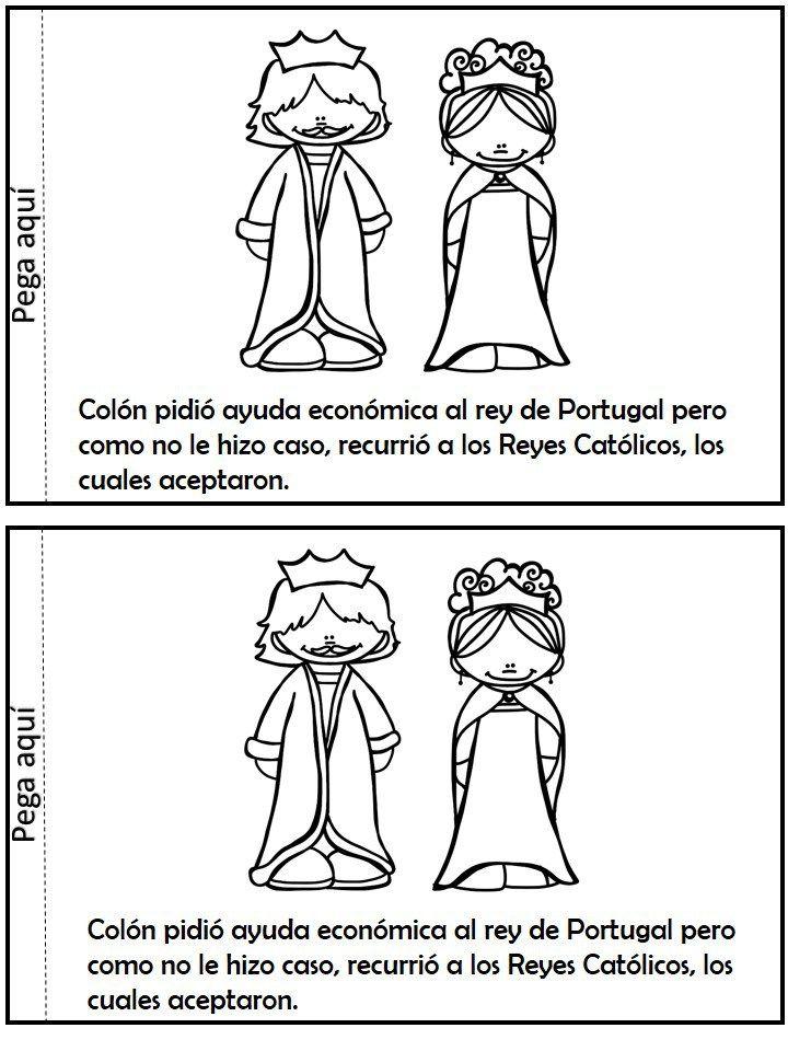 Libro Interactivo Descubrimiento De América Cristobal Colón Historia De Cristobal Colon Cristobal Colon Para Niños Cristobal Colón
