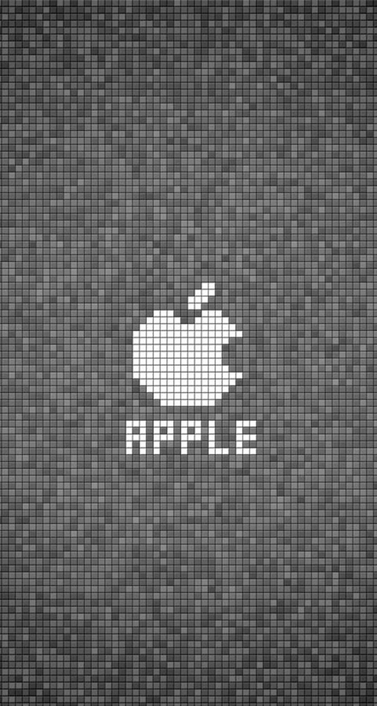 Hd wallpaper for iphone 5s - Iphone 5 Wallpaper Apple Logo Parallax Cubes