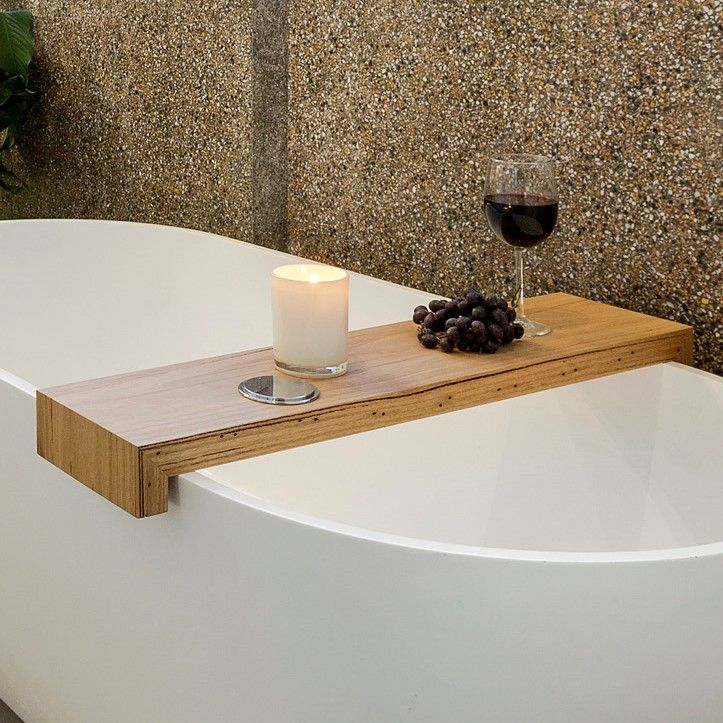 Recycled Timber Bath Caddy | The Block Shop | Stuff to Buy ...