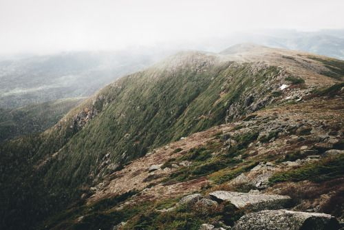 a few from another trip to the southern presidentials - white mountains, new hampshire --- #mountains #fog #presidentialrange #hiking