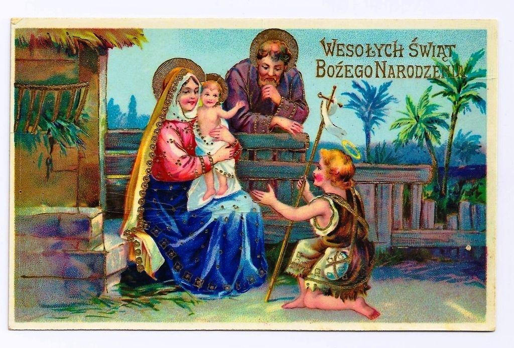 c 1910 Polish Christmas Card | Vintage Christmas | Pinterest ...