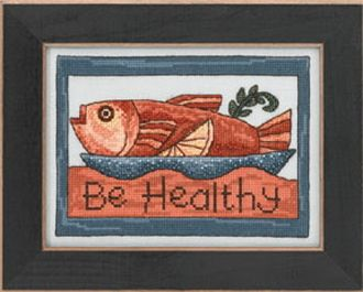 Mill Hill Sticks beaded counted cross stitch kit - Be Healthy