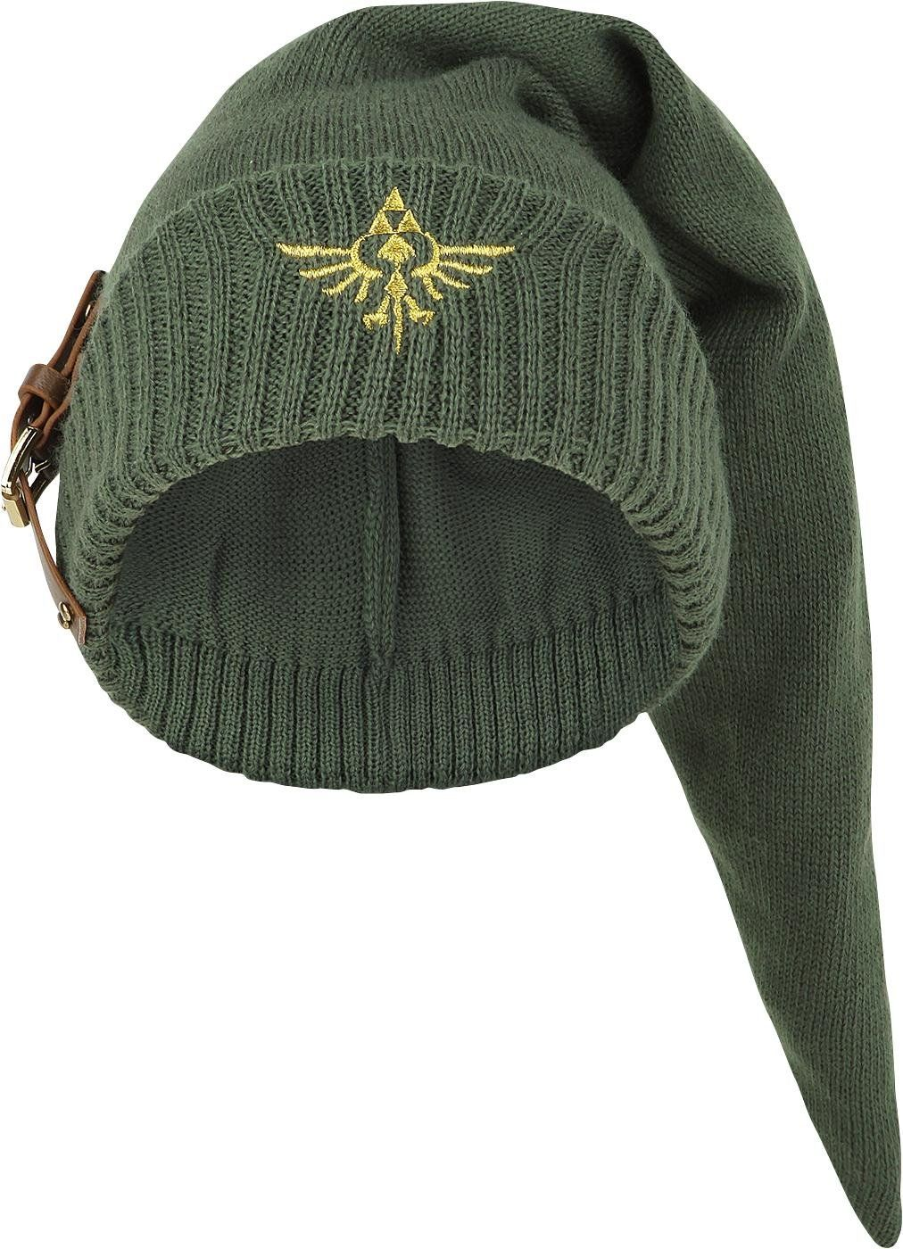 bbbc9f78a1c Legend of Zelda Knitted Link Beanie with Buckle ---- I NEED THIS ...