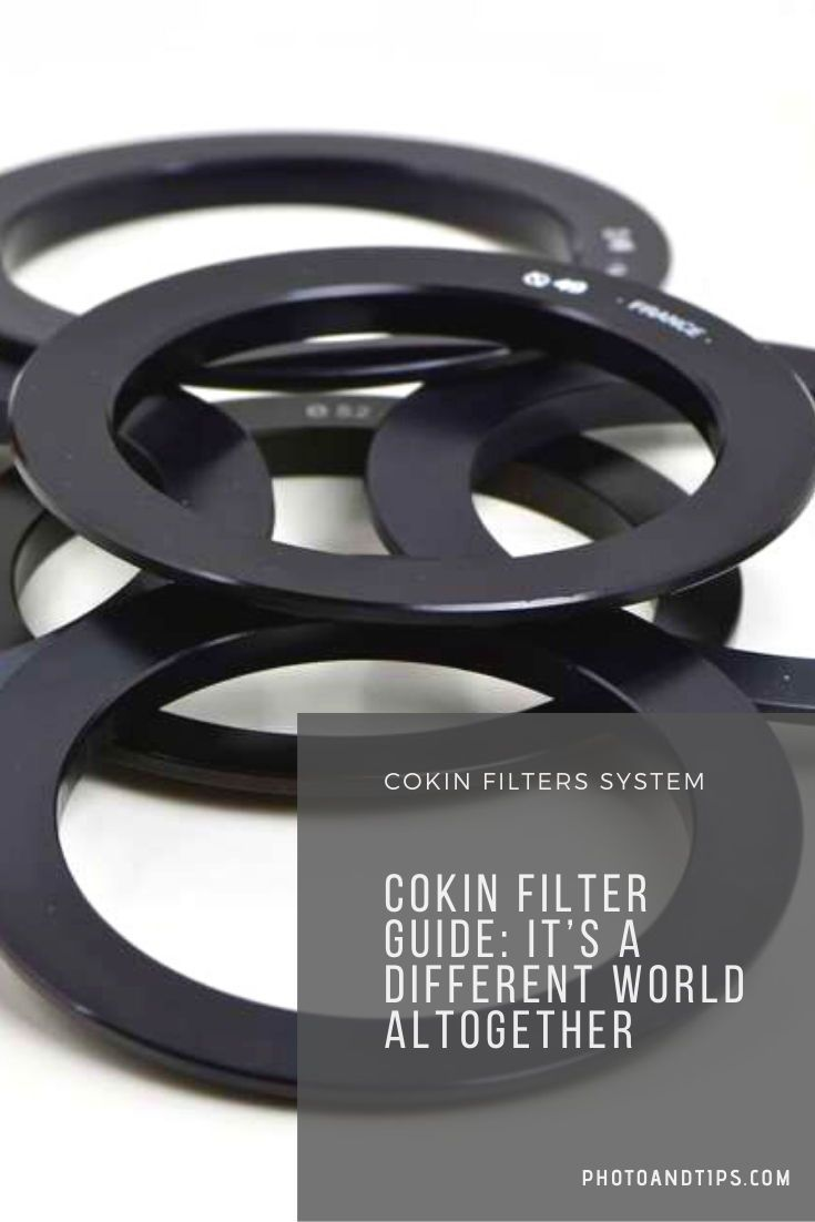 Cokin Creative Filter System Guide It's a Different