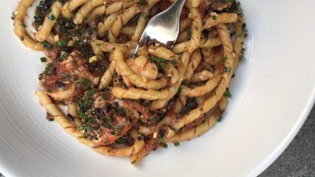 Busiate - This thin, hollow tube of twisty pasta resembles ...