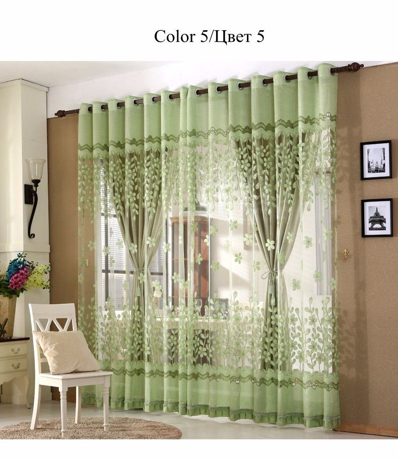 European Royal Luxury Curtains 11 Colors Embroidered Voile Magnificent Luxury Curtains For Living Room Design Ideas