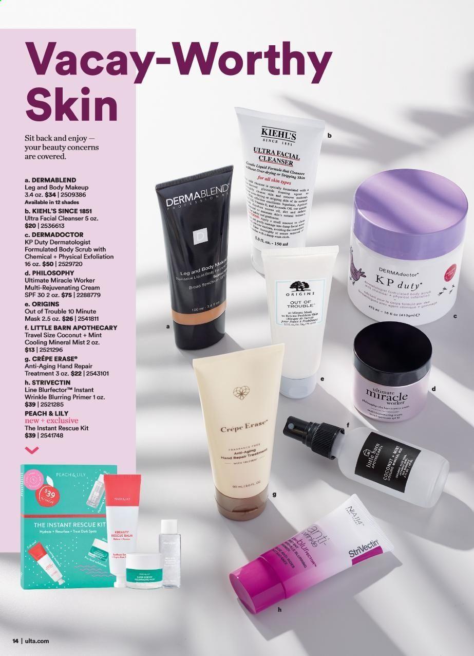 Ulta Beauty flyer June 2019 We love Dermablend so proud