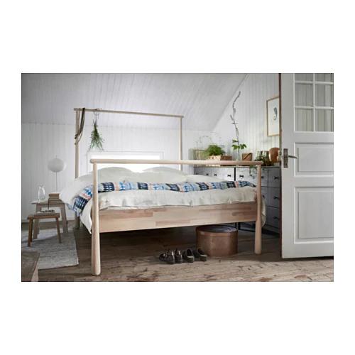 Gjora Ram Postele Briza Leirsund 140x200 Cm Ikea Bed Frame Ikea Bed Adjustable Beds