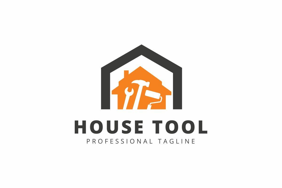 House Tool Logo Template 78859 In 2020 Tool Logo Logo Templates Logos