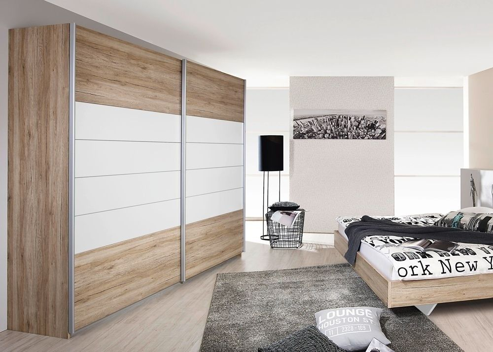 Schrank Barcelona 271,0 cm Sanremo Weiß 8257 Buy now at   - günstige komplett schlafzimmer