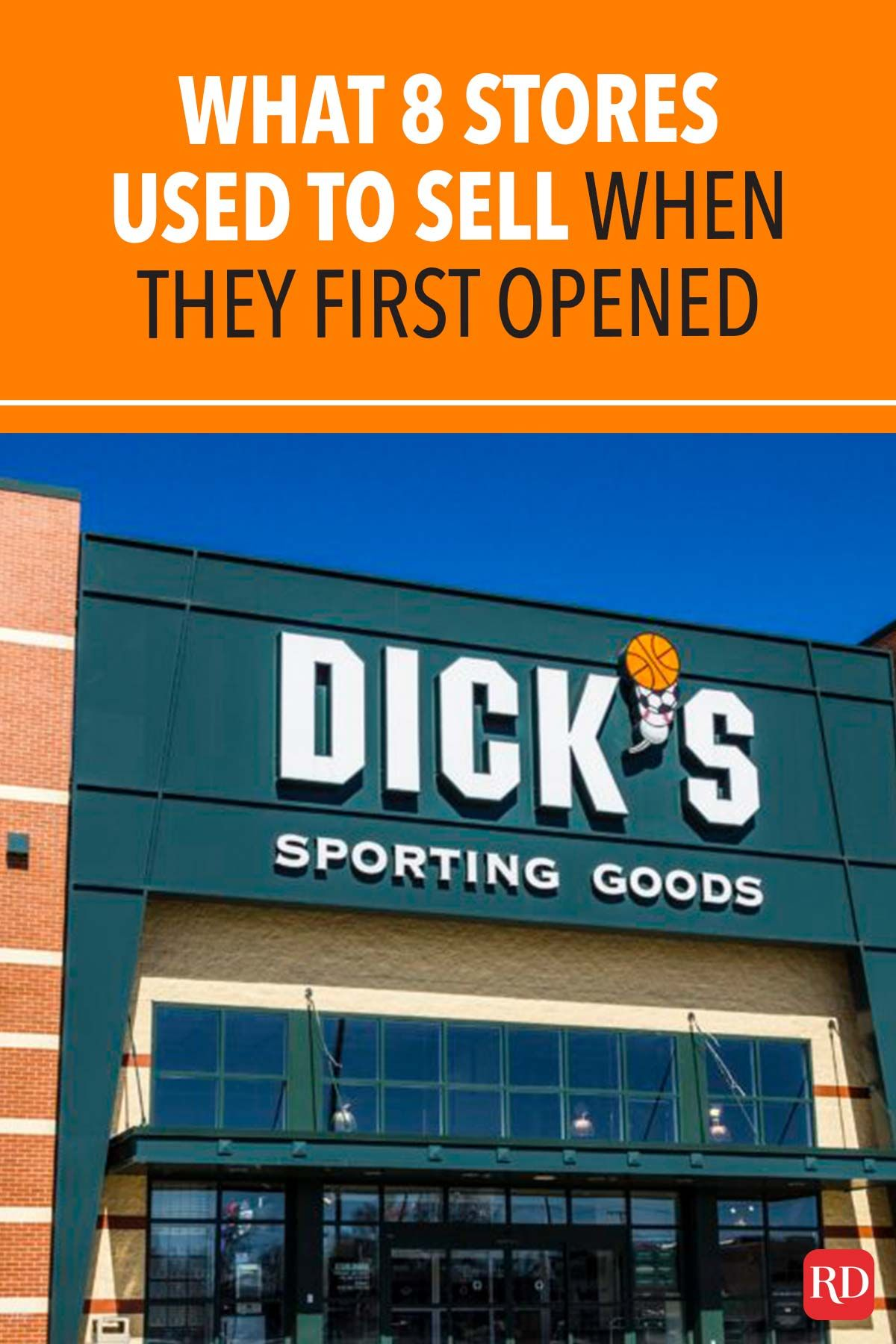 What 8 Stores Used To Sell When They First Opened In 2020 Famous Store Things To Sell Fun Sports