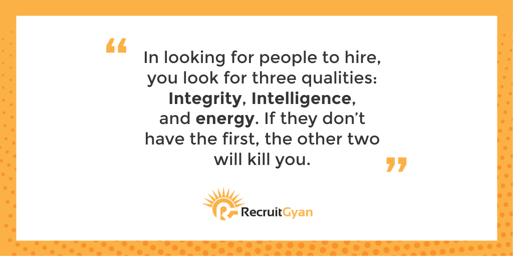 Hire character, train skill! Do you agree? recruiterlife