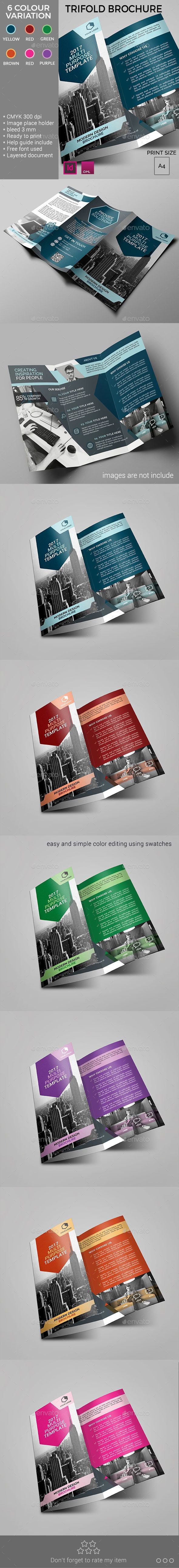 Trifold Brochure | Tríptico, Asas y Tarjetas