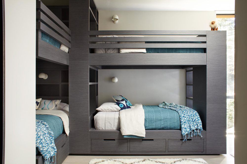 21 Enviable Bunk Room Designs for Kids