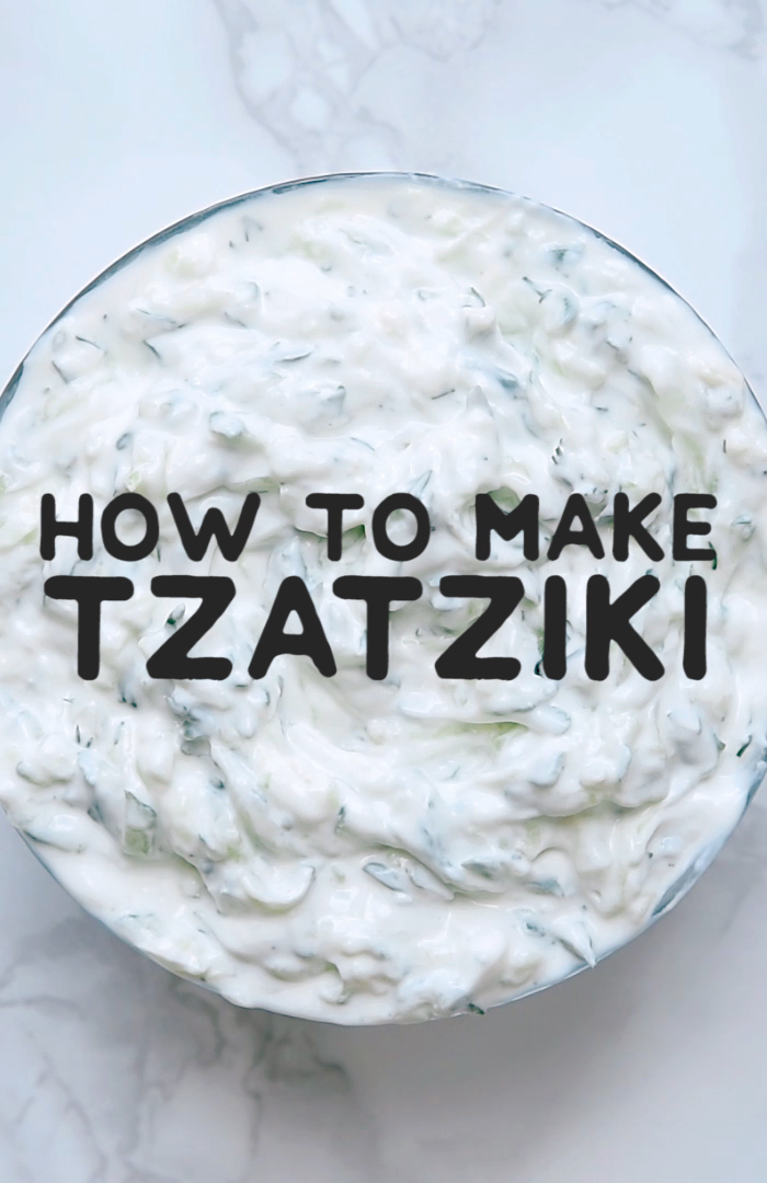 How To Make The World's Best Tzatziki Sauce