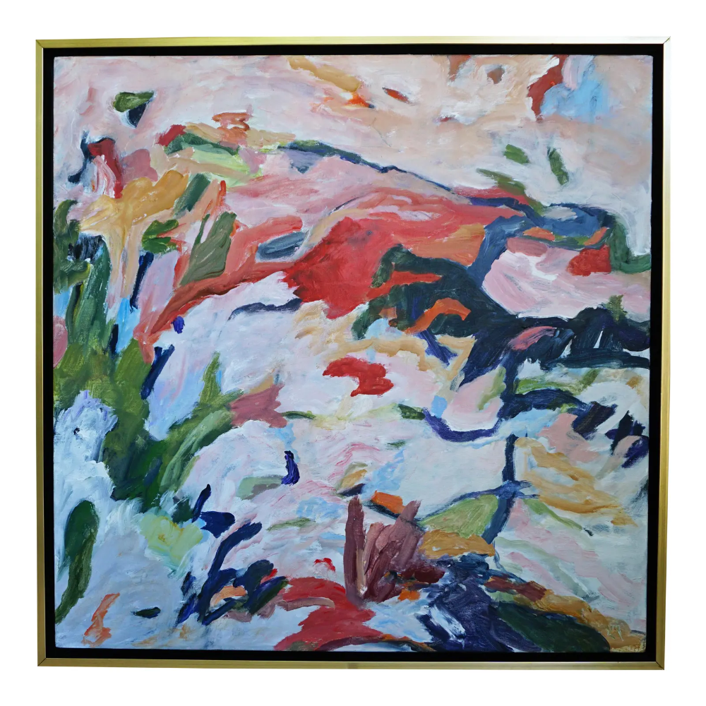 Laurie Macmillan Foothills Abstract Painting Chairish In 2020 Painting Original Abstract Painting Abstract Painting