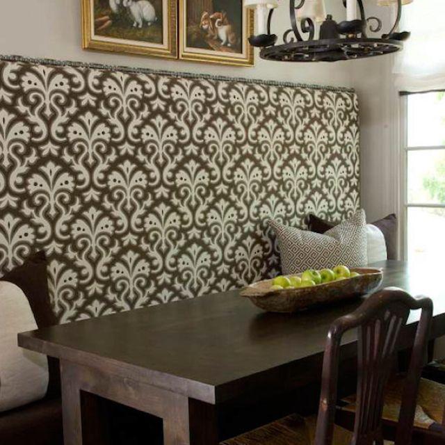Pleasant Dining Table Built In Bench Padded Headboard Cottage Inzonedesignstudio Interior Chair Design Inzonedesignstudiocom