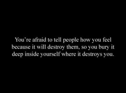 Where it destroys you.