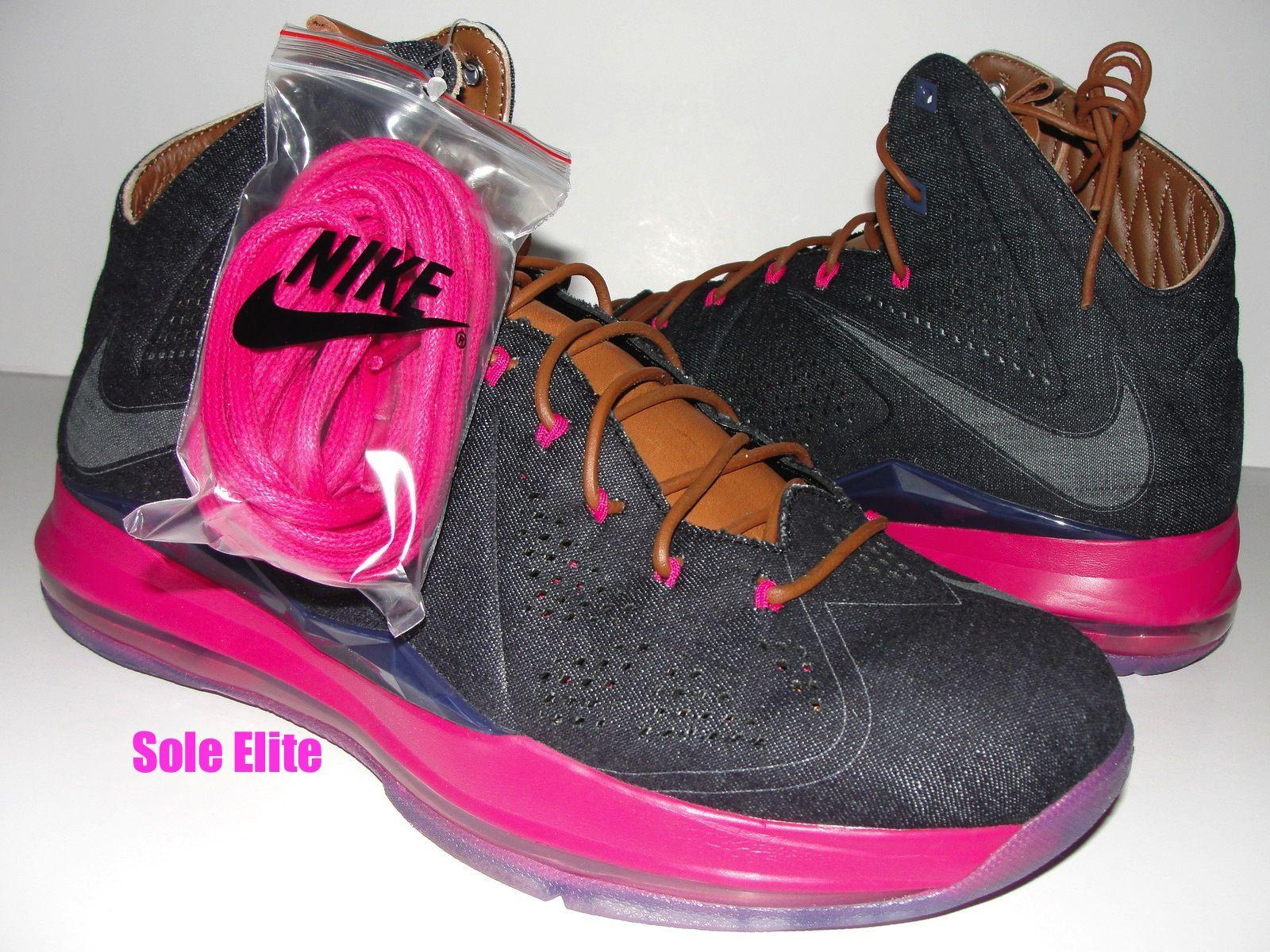 purchase cheap 54f67 aeab9 Nike LeBron X 10 EXT DENIM QS 597806 400