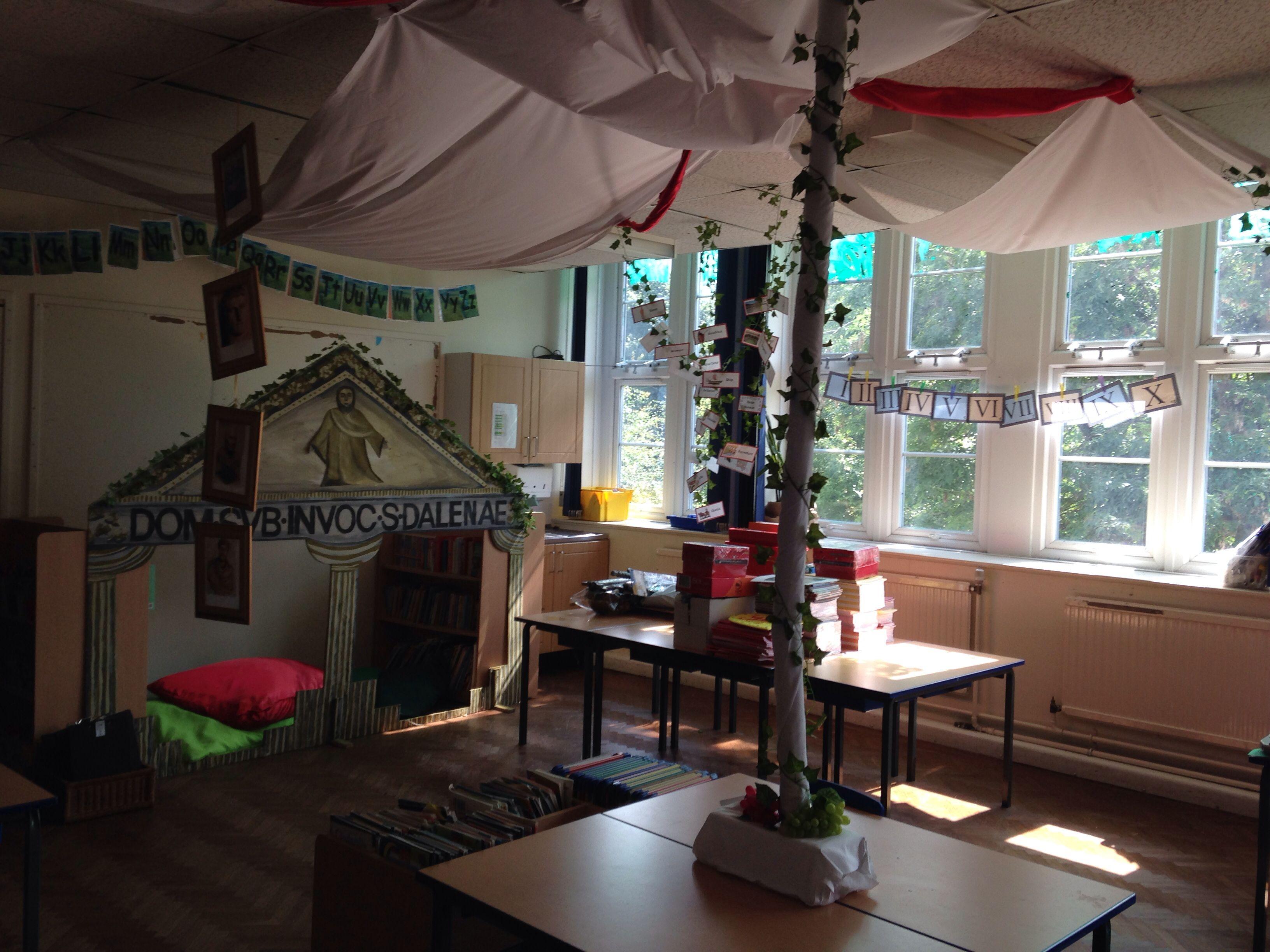 Roman Classroom