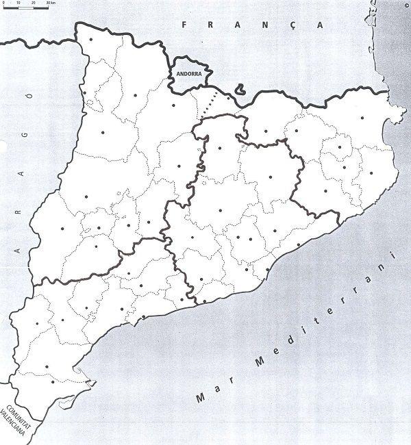 7 Ideas De Comarques Mapas Geografía Mapa Interactivo