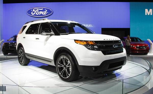 HD Wallpaper  Ford Explorer 2014 Cars  White  HD Wallpaper Cars
