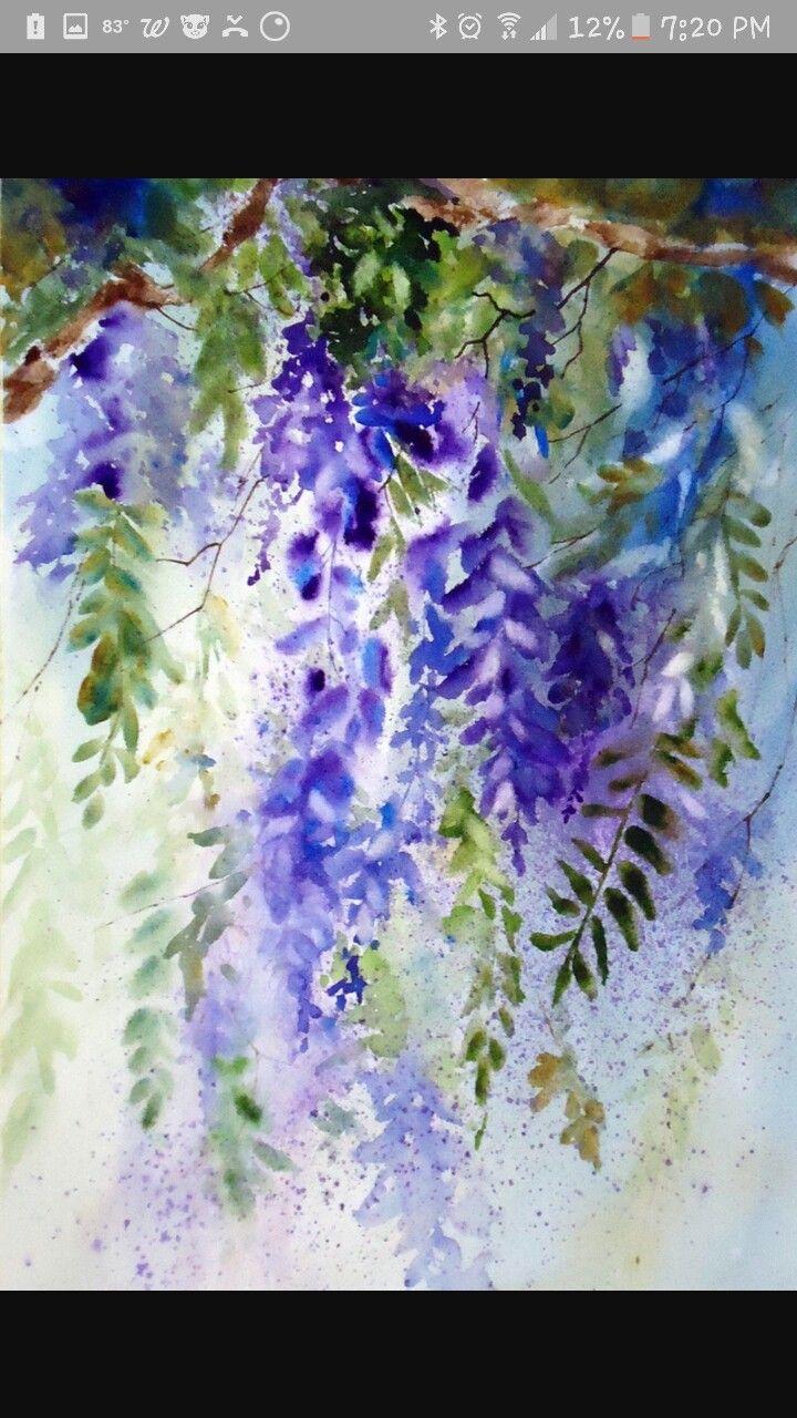Pingl par sue bridges sur alcohol ink and cards - Peinture couleur lavande ...