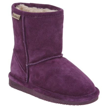 My daughter would LOVE this pair of Kids Emma 6.5 BearPaw boots in Violet.