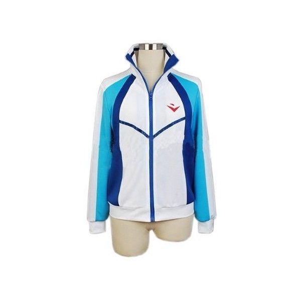 Iwatobi Swim Club Jacket Uniform Rin Matsuoka Cosplay Costume Coat Jacket Free