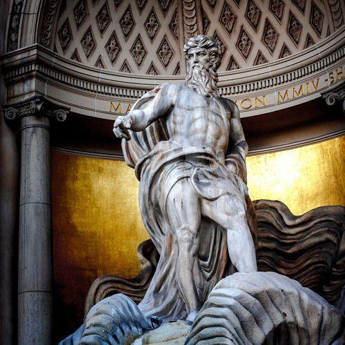 Poseidon Statue At Caesars Palace Las Vegas Vegas