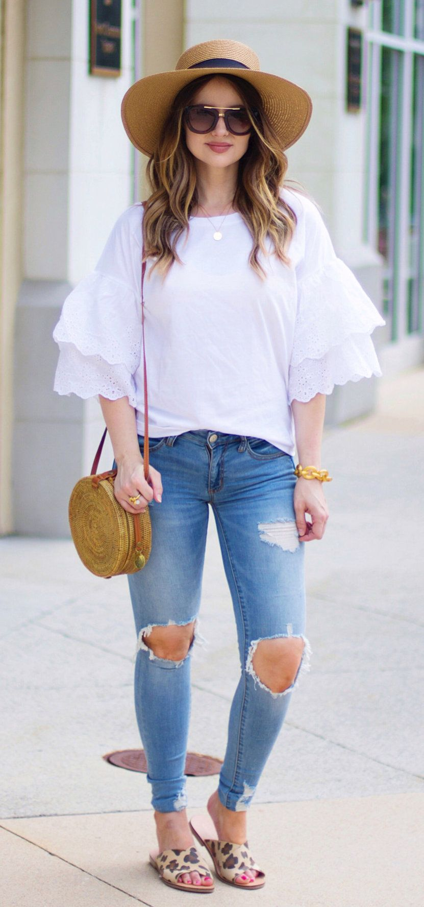 86c545298fb Flawless Summer Outfits You Should Already Own. summer outfits I m  Baaacckk! 🙌💗 I ve Been A Little MIA Lately After Having Baby  3