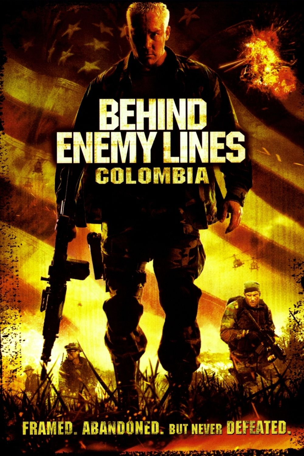 Behind Enemy Lines Colombia Enemy, Colombia, Free movies