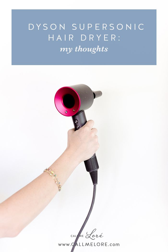 When I Saw The Dyson Supersonic Hair Dryer I Decided To